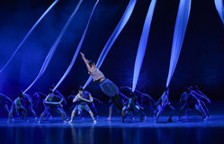 "Dangerous rescue -Dance drama ""The Dream of Maritime Silk Road"" Stock Photography"