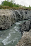 Dangerous river Royalty Free Stock Photos