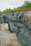 Dangerous river Stock Photos
