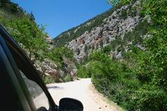 Dangerous road Royalty Free Stock Photos