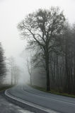 Dangerous road Stock Image
