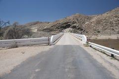 Dangerous Road - Namibia Stock Images