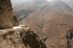 Dangerous Road to San Pedro de Casta - Peru Royalty Free Stock Images