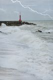 Dangerous sea Stock Photos