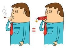 Dangerous smoking stock illustration