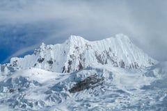 Dangerous snow mountain Royalty Free Stock Image
