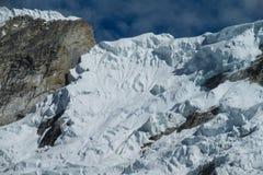 Dangerous snow mountain Royalty Free Stock Photography