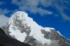 Dangerous snow peak Stock Photography