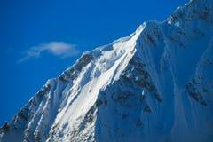 Dangerous snow peak Royalty Free Stock Photos