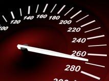 Dangerous speed Royalty Free Stock Photo