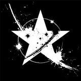 Dangerous star. Illustration of dangerous star design vector illustration