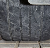 Dangerous tires Royalty Free Stock Photography