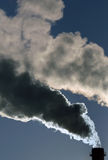 Dangerous toxic smoke clouds Stock Photos