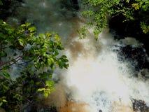 Dangerous water flow Stock Photo