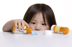 Dangers d'enfance Photographie stock libre de droits