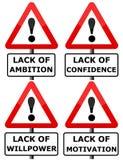 Dangers de carrière illustration libre de droits