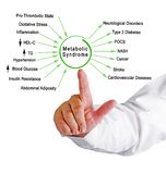 Dangers of Metabolic Syndrome. Presenting Dangers of Metabolic Syndrome stock image