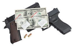 Dangers and Rewards of Drug Trafficking Royalty Free Stock Photo