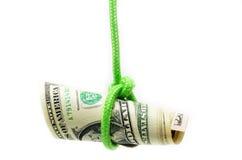 Dangling US dollar Stock Photos