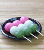 Dango japanese dumpling and sweet Royalty Free Stock Photo