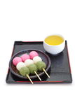 Dango japanese dumpling and sweet Royalty Free Stock Image