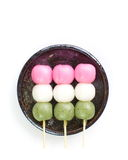 Dango japanese dumpling and sweet Royalty Free Stock Photography