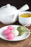 Dango japanese dumpling and sweet Stock Image