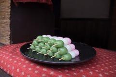 Dango  japanese sweets Stock Photos