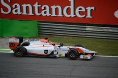 Danià 'l De Jong 2014 GP2 Monza serie Zdjęcia Stock