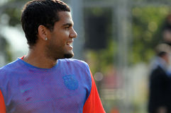 Dani Alves Royalty Free Stock Photos