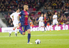 Dani Alves Royalty Free Stock Images