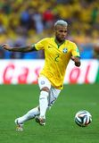 Dani Alves Coupe du Monde 2014 Royalty Free Stock Photo
