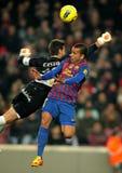 Dani Alves de FC Barcelona foto de archivo libre de regalías