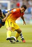 Dani Alves del FC Barcelona foto de archivo