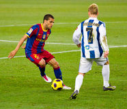 Dani Alves (FC Barcelona) Foto de archivo libre de regalías