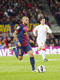 Dani Alves of FC Barcelona Royalty Free Stock Photos