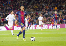 Dani Alves of FC Barcelona Royalty Free Stock Photography