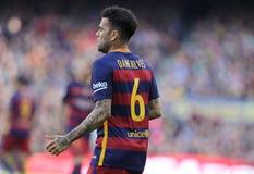 Dani Alves of FC Barcelona Royalty Free Stock Photo