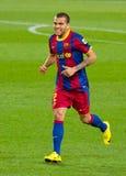 Dani Alves von FC Barcelona stockbild
