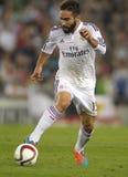 Dani Carvajal της Real Madrid Στοκ Εικόνες