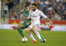 Dani Carvajal do Real Madrid Fotografia de Stock
