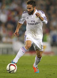 Dani Carvajal do Real Madrid foto de stock