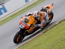 Dani espagnol Pedrosa d'équipe de Repsol Honda Images stock