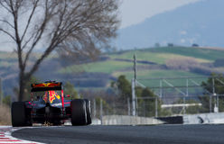 DANI KVYAT (REDBULL) - F1 TEST Stock Images
