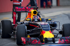DANI KVYAT (REDBULL) - F1 TEST Stock Photo