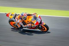 Dani Pedrosa ad energia 2016 del mostro MotoGP di Catalunya a Barcellona gira intorno a il 3 giugno 2016 immagine stock libera da diritti