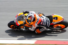 Dani Pedrosa d'équipe de Repsol Honda Photos stock