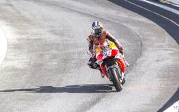 Dani Pedrosa da competência da equipe de Repsol Honda Imagem de Stock Royalty Free