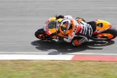 Dani Pedrosa de Repsol Honda Image libre de droits