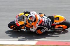 Dani Pedrosa della squadra di Repsol Honda Fotografie Stock